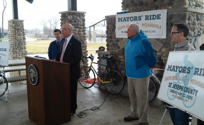 The Mayor's Ride Press Conference
