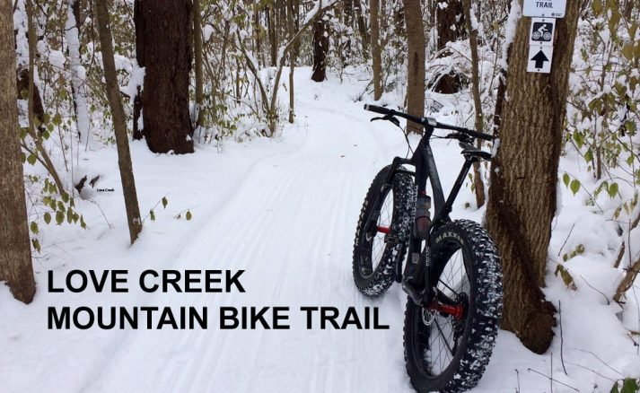 Love Creek Fat Tire Bike Trail Is Open!