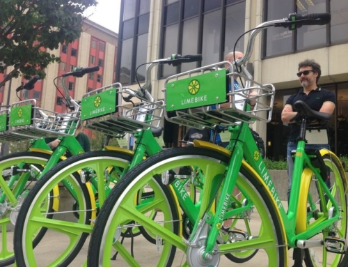 We take LimeBike for a test spin in South Bend