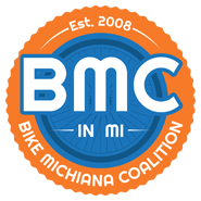 Bike Michiana Coalition Sticky Logo Retina