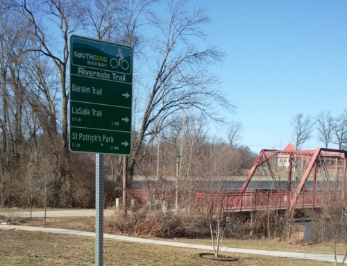 What will you say of the 3 proposed names, logos for Michiana trails?