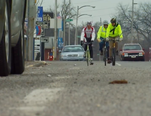 Indiana State Police and Michiana Bike Coalition talk about safety with bikes on the road