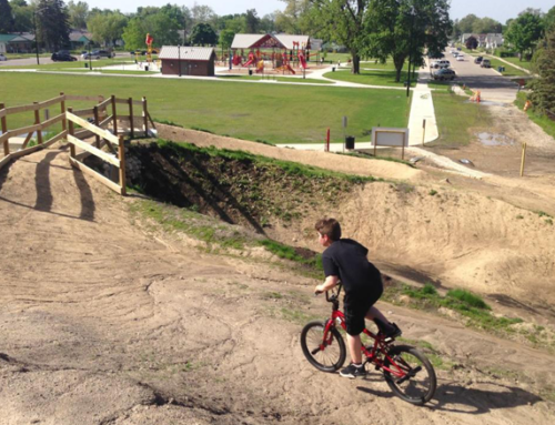 The Bike Michiana Coalition provided $20,000 to help with construction