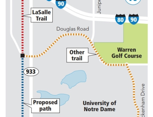 Link between East Bank and LaSalle trails wins state grant, to be built next year