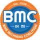 Bike Michiana Coalition Sticky Logo